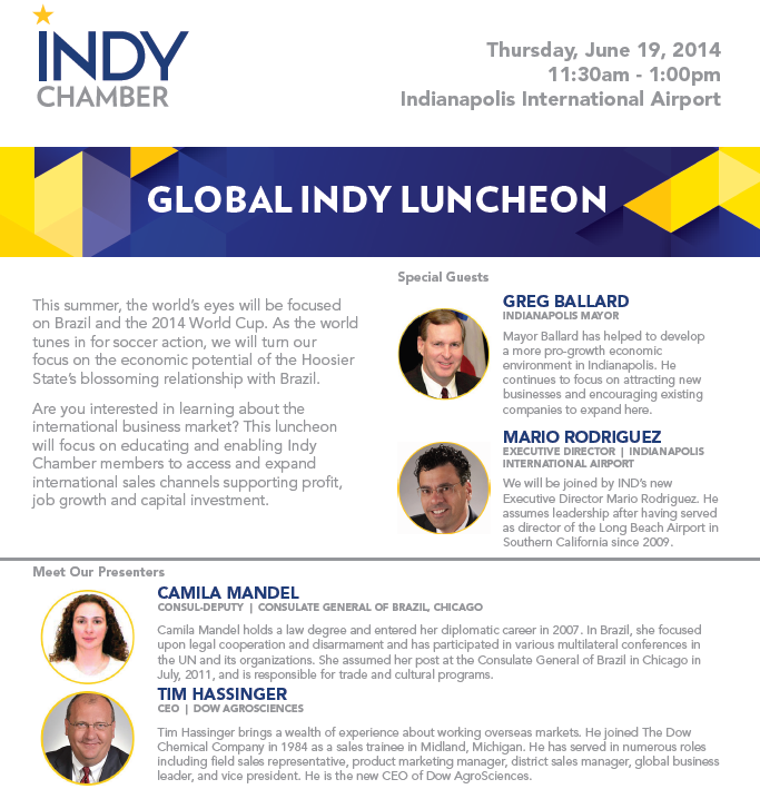 Global Indy Lunch