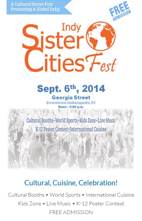 Sister cities 2014