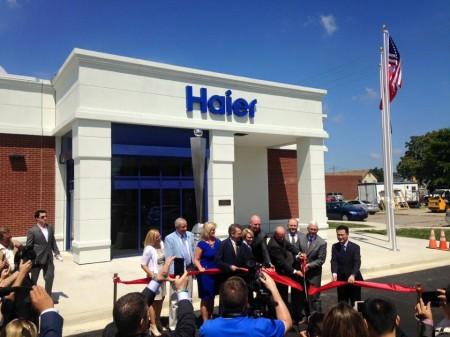 July 14 2015 haier opens north american tech center in evansville america china society of - Haier america corporate office ...